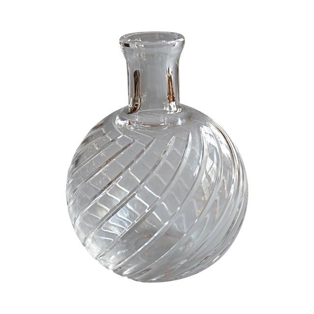 Baccarat Spiral Vase Chairish