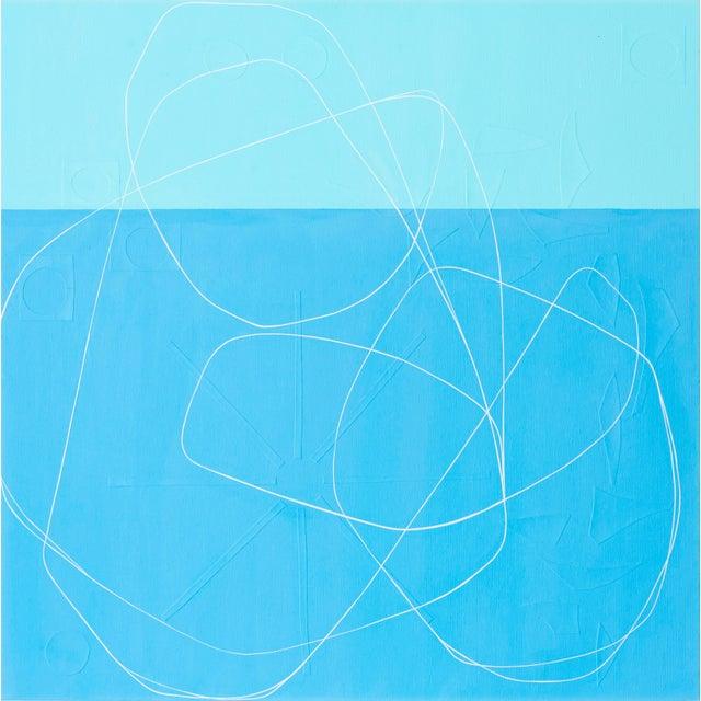 "Blue Maura Segal, ""Summer Sky"" For Sale - Image 8 of 8"