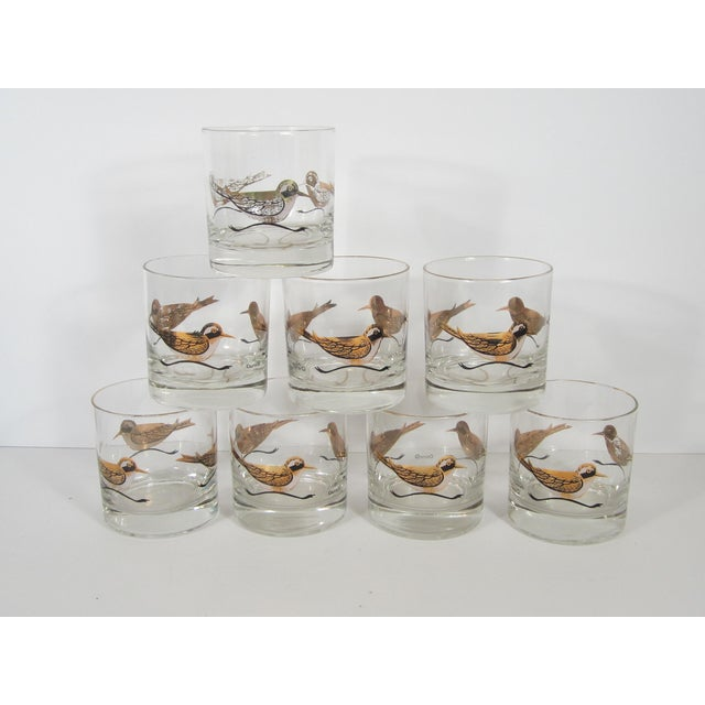 Couroc Mid-Century Road Runner Lowballs - Set of 8 - Image 2 of 4