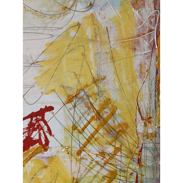 Washington Square Park Abstract Painting For Sale - Image 4 of 6