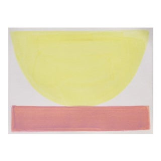 """2010s Abstract Original Painting, """"Nana's Bakelite Bowl"""" by Jenny Andrews Anderson"""