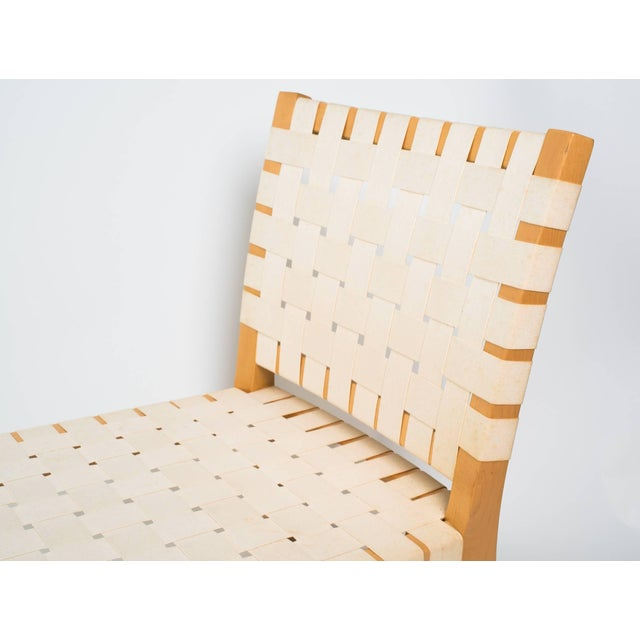 Ivory Modern Vicente Wolf Niedermaier Custom Chaise Lounge For Sale - Image 8 of 10