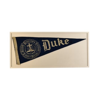 1970s Americana Duke University Pennant For Sale