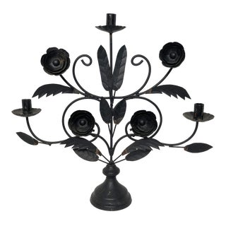 Metal Tree of Life Candle Holder For Sale