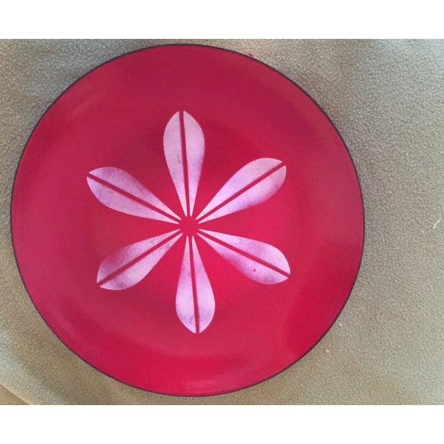 Catheineholm Red Lotus Plate - Image 2 of 5