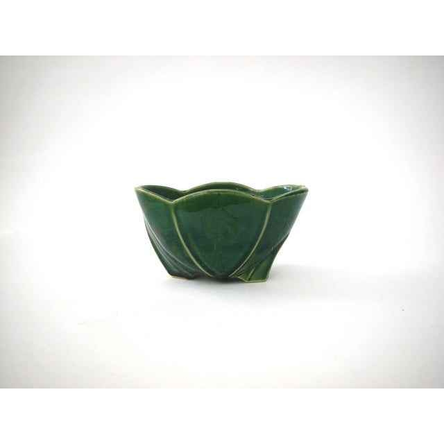 McCoy Green Pottery Vase - Image 6 of 10