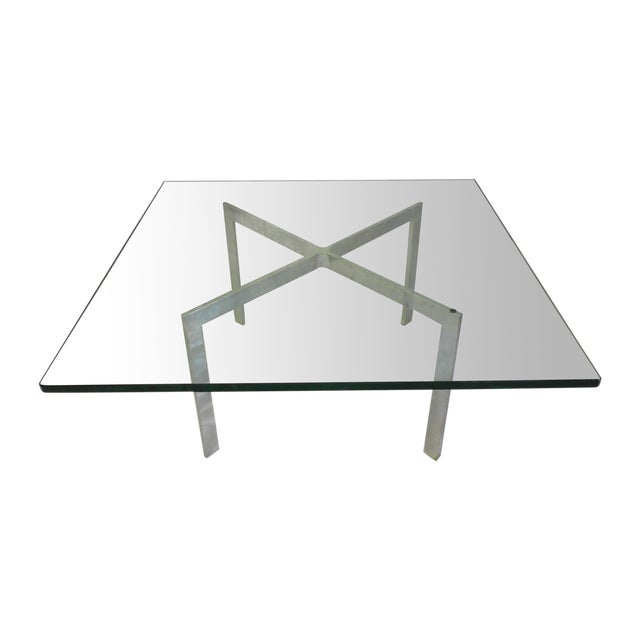 Knoll, Mies Van Der Rohe Barcelona Table - Image 1 of 4