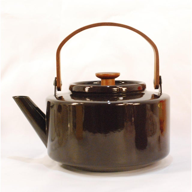 Copco Michael Lax Chocolate Brown #117 Tea Kettle - Image 2 of 11