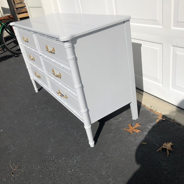 Wood 1970s Lacquered Henry Link Dresser For Sale - Image 7 of 12