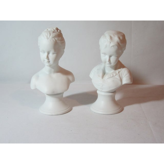 Boy and Girl Busts - Pair - Image 4 of 8