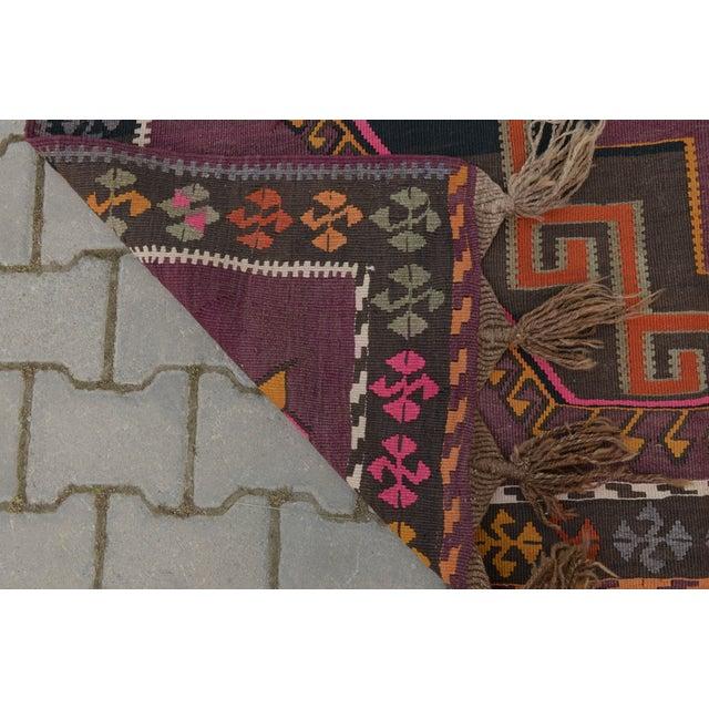 Hand-Woven Turkish Runner - 5′6″ × 13′2″ - Image 10 of 10