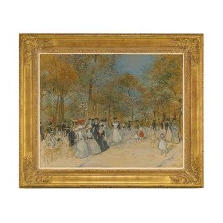 Les Champs-Élysées By Jean François Raffaëlli