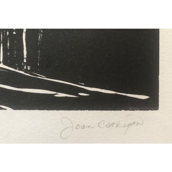 20th Century Original Signed Letterpress Print on Archival Paper by Joan Corrigan For Sale In San Francisco - Image 6 of 10