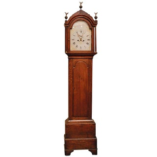 Early 19th c. English Winchester Clock For Sale