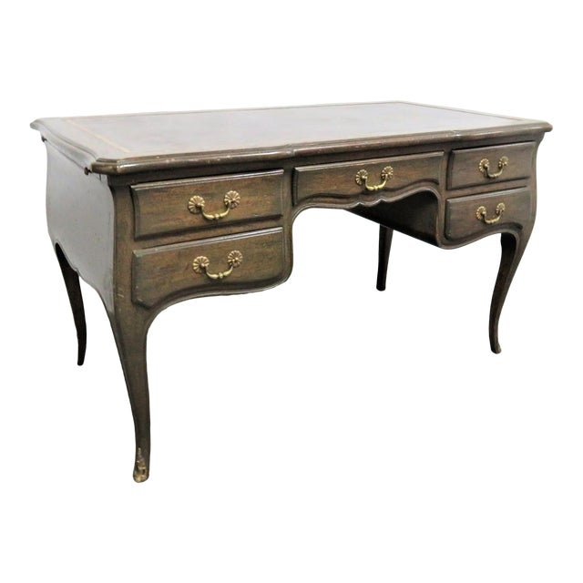 Louis XV Leather Top Writing Desk For Sale