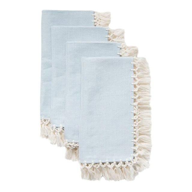 Serenity Sencillo Napkins - Set of 4 - Image 1 of 5