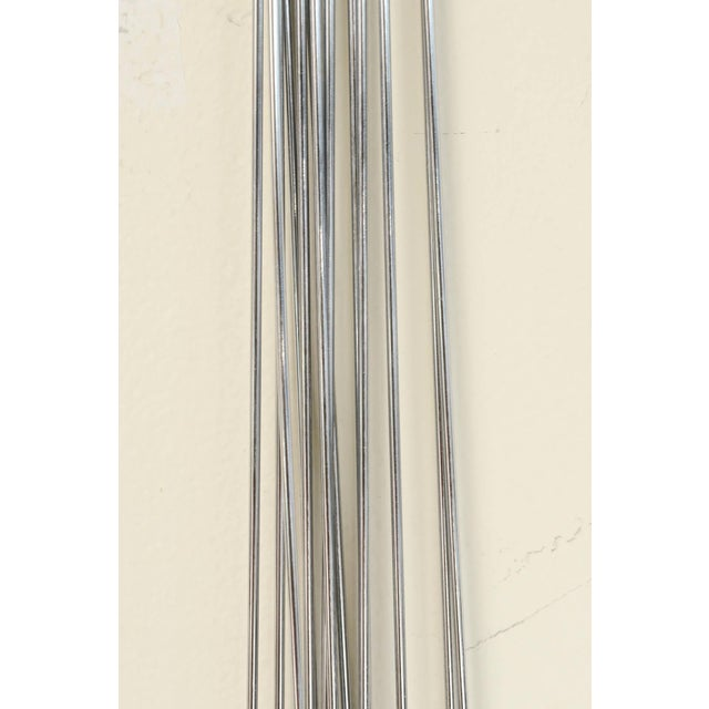 Curtis Jere Mixed Metals Pom Pom/Starburst Hanging Sculpture For Sale - Image 9 of 9