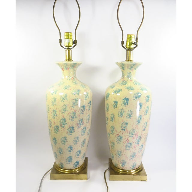 Tyndale Chicago Boudoir Table Lamps, 1980s - Pair - Image 2 of 8