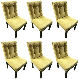 Milo Baughman Dinning Chairs - Set of 6 For Sale