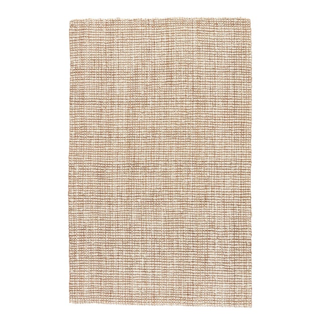 Jaipur Living Mayen Natural White/ Tan Area Rug - 5′ × 8′ For Sale