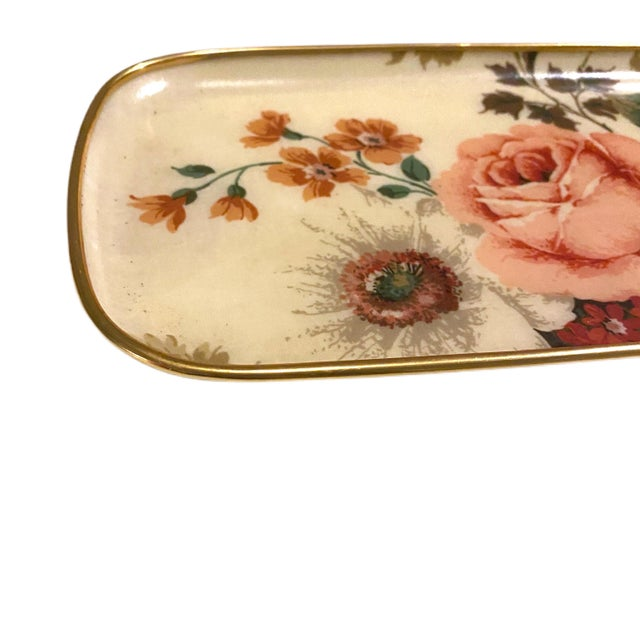 What's not to love about fiberglass home accents?!?! This long rectangular tray has soft curved corners that match the...