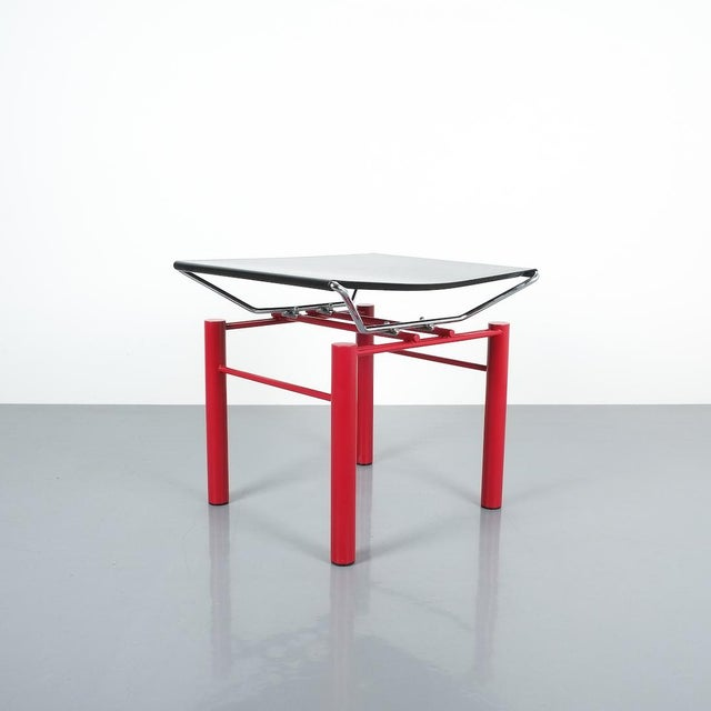 Modern Hans Ullrich Bitsch Side Table Series 8600, Circa 1980 For Sale - Image 3 of 6