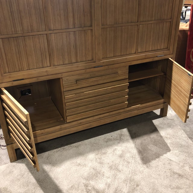 Room & Board Maria Tee Bamboo Timbre Secretary For Sale In Las Vegas - Image 6 of 7