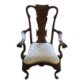Antique English Queen Anne Chair