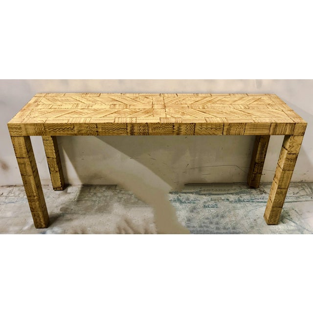 James Mont Style Console Table For Sale - Image 5 of 6