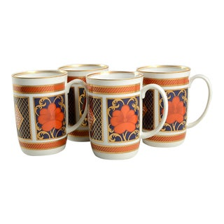 Fitz & Floyd Empress Mug - Set of 4 For Sale