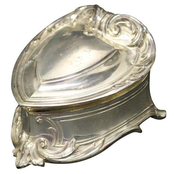 Silver Heart Trinket Box - Image 1 of 2