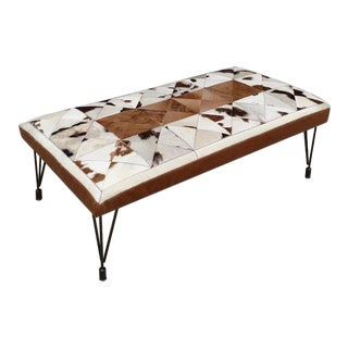 Gambrell Renard Hytower Cowhide Bench For Sale