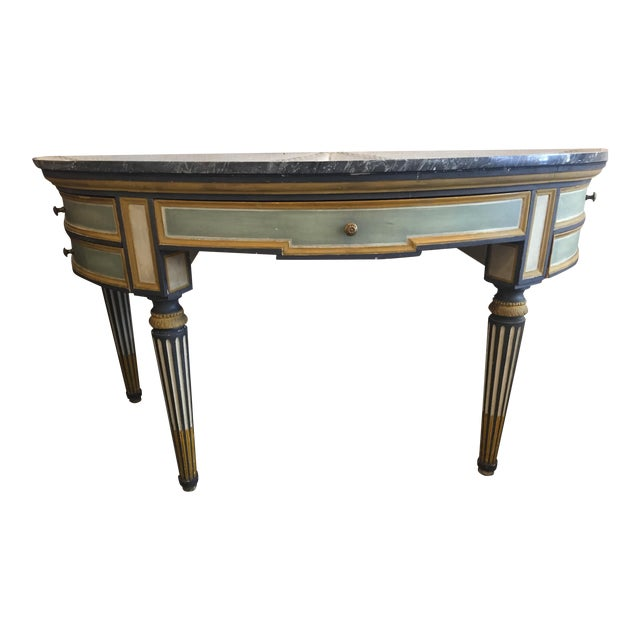 Fratelli Luppi Demilune Console Table - Image 1 of 5