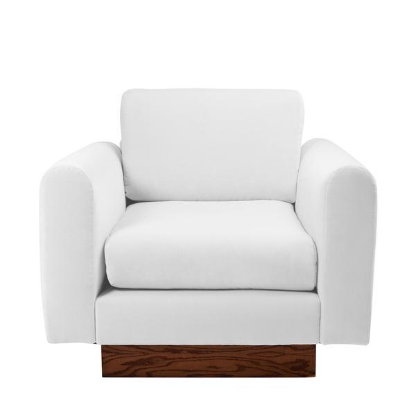 Harvey Probber Lavender Velvet Club Chairs - Pair - Image 5 of 10