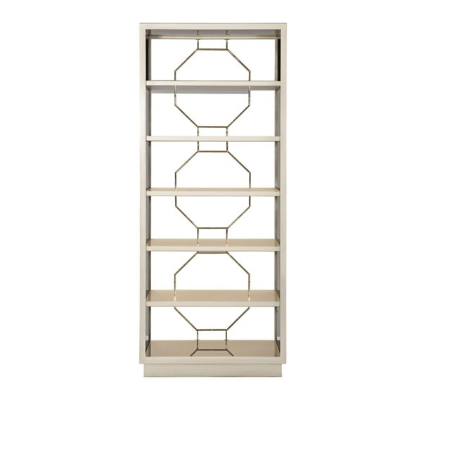 Caracole Modern Going Up Display Cabinet For Sale In Atlanta - Image 6 of 7