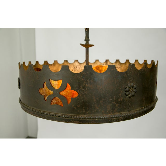 Mica Medieval Revival Chandelier - Image 6 of 11