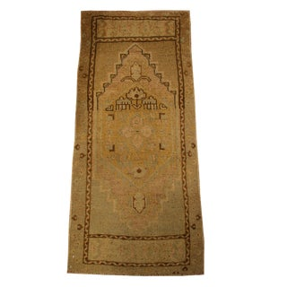 Small Vintage Area Rug - 1′9″ × 3′11″ For Sale