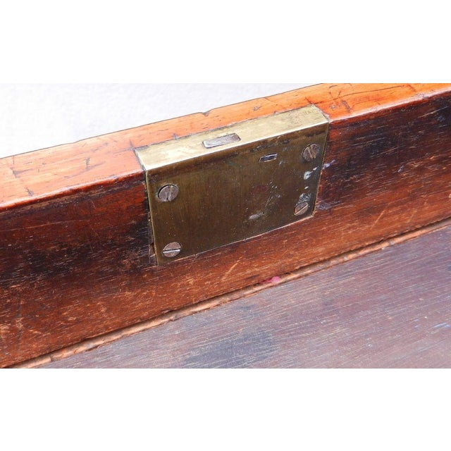 19th Century Antique English Rosewood Regency Basket Sewing Table For Sale - Image 10 of 11