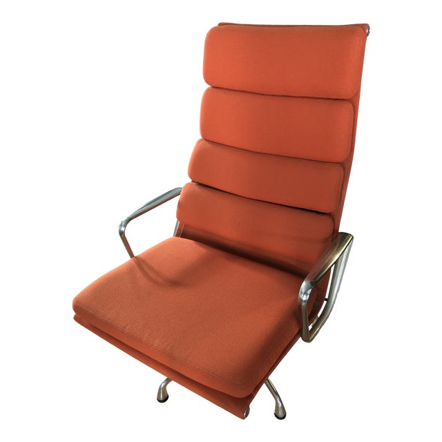 Eames Aluminum Authentic Herman Miller Lounge Chair For Sale