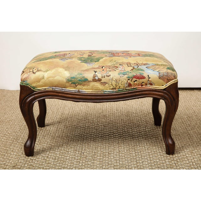 French Small Louis XV Style Footstool For Sale - Image 3 of 10