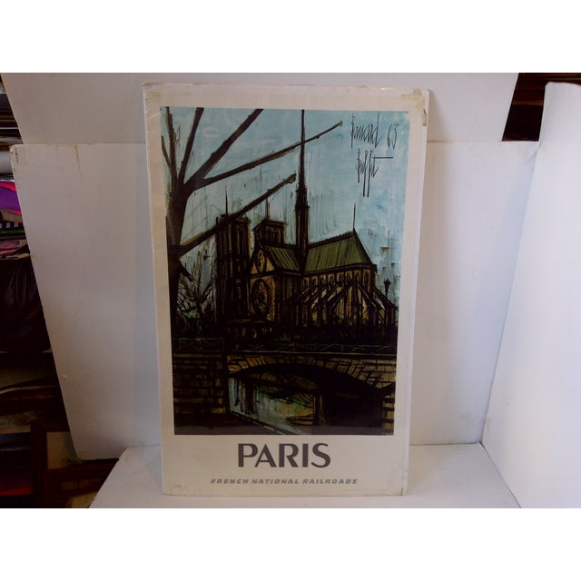 French National Railroad Print, Paris Circa 1967 - Image 2 of 9