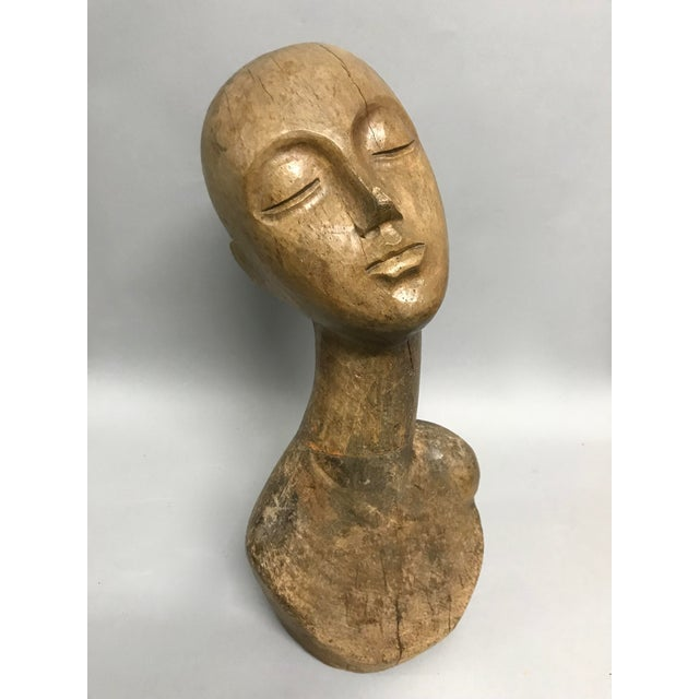 Vintage Carved Wood Mannequin For Sale In New York - Image 6 of 9