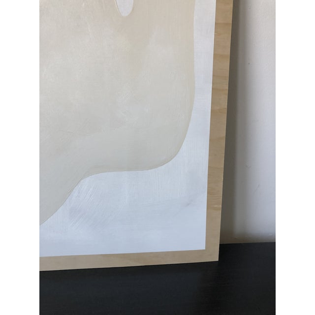 Wood Play Abstract Acrylic Painting For Sale - Image 7 of 11