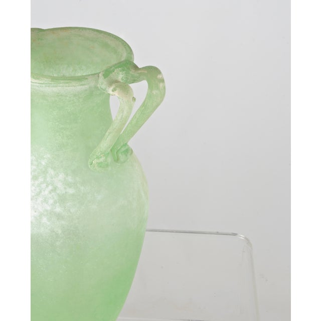 Large Murano Scavo Vase For Sale - Image 4 of 8