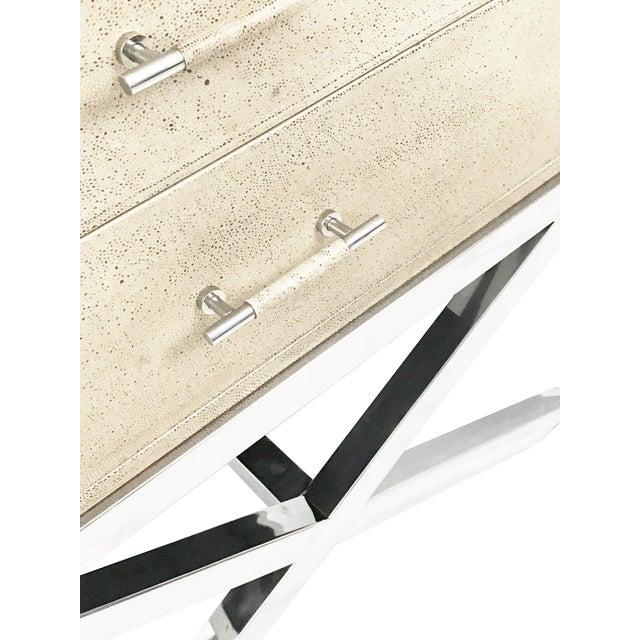 Sarreid Trademark Leather Chest - Image 5 of 7
