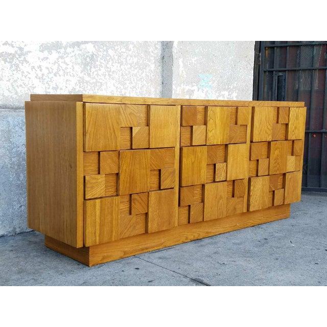 1970's Lane 9-Drawer Dresser - Image 6 of 7