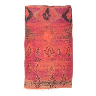 Vintage Moroccan Boujad Rug - 4′6″ × 7′4″
