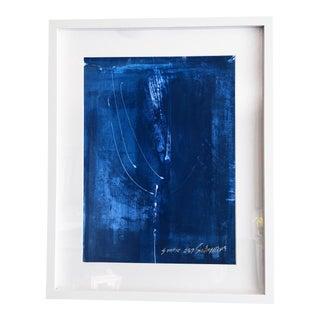 Static 275 Cobalt Blue Original Acrylic Painting For Sale
