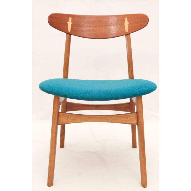Set of 8 Hans Wegner CH-30 Dining Chairs - Image 2 of 10