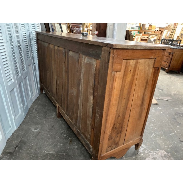 Brown 18th Century French Provincial Buffet For Sale - Image 8 of 9